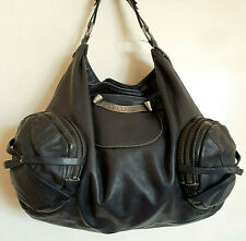 Juicy Couture XL Genuine Leather Slouchy Boho Chic Handbag Shoulder Bag, B3024