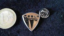 Tesla Automobile Pin Badge edel selten