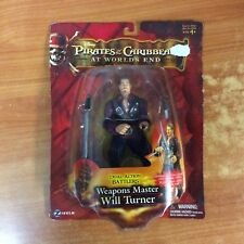 2007 Pirates of Caribbean Weapons Master Will Turner - Brand New & Sealed