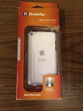 XtremeMac Rigid Plastic Shell Clear case for Apple iPod touch (4G) New free ship
