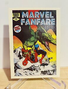 The Amazing Spiderman Vintage Collector Card - Marvel Fanfare 🔥