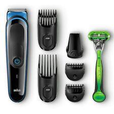 Braun Trimmer 7-in-1 Cordless Hair Clipper Gillette Razor
