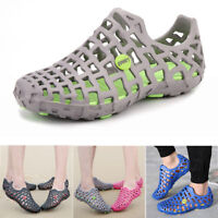 Men's & Women's Breathable Slippers Hollow-out Beach Sandals Garden Hole Shoes