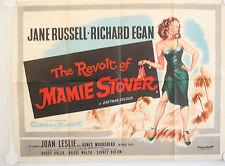 THE REVOLT OF MAMIE STOVER ORIGINAL UK QUAD FILM POSTER
