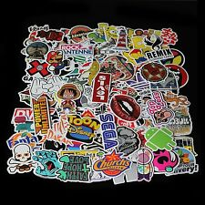 50/100/500X Random Vinyl Decal Graffiti Sticker Laptop Waterproof Stickers Skate
