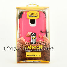 Otterbox Defender Samsung Galaxy S5/S 5 Rugged Hard Case+Holster Belt Clip Pink
