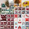 "18"" Christmas Xmas Cushion Cover Case Pillow Home Sofa Throw Decor'"