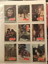 11 Planet of the Apes Trading Card Set 1967 Pota
