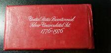 1776-1976 US Mint Bicentennial Silver 3 Coin Unc set.