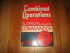 1943 Combined Operations Official Story of Commandos RAF Royal Navy Mountbatten