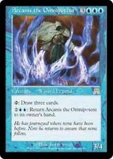 ARCANIS THE OMNIPOTENT Onslaught MTG Blue Creature — Wizard RARE