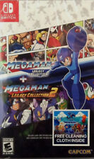 Megaman Legacy Collection 1+2 (Nintendo Switch, 2018) Brand New Factory Sealed
