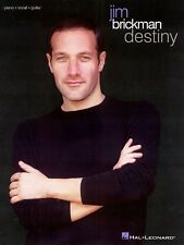 Jim Brickman Destiny Sheet Music Piano Vocal Guitar Songbook NEW 000306272