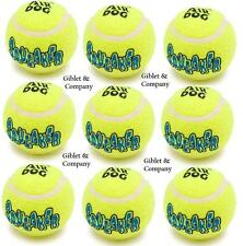 24 MEDIUM Air KONG SQUEAKER TENNIS BALLS - Bouncy Squeaky Bulk Dog Toys