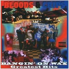 FREE US SHIP. on ANY 3+ CDs! ~Used,Very Good CD Bloods & Crips: Bangin on Wax Gr