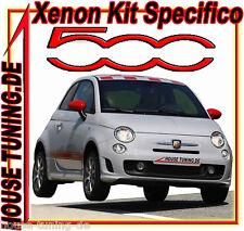 Kit Xeno Fiat Nuova 500 Con adattatori + Abbaglianti