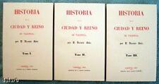 HISTORIA DE LA CIUDAD Y REINO DE VALENCIA 3 vol. Vicente Boix