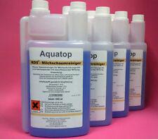 4x 1 Liter Profi Milchschaumreiniger, Cappuccinoreiniger, Sahnereiniger AquaTop