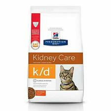 Hill's Prescription Diet k/d Kidney Care with Chicken Dry Cat Food 8.5 lb bag