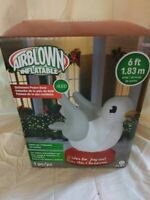 NEW! Gemmy Christmas Peace Dove Airblown Inflatable 6 Feet Lights up Yard Decor