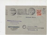 Germany 1947 Allied Occupation to Thuringia Chemnitz Cancel Stamps Cover  23216
