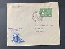 1949 India Stamps Fdc ! Upu First Day Cover ! Calcutta > Sonari ! L@K !