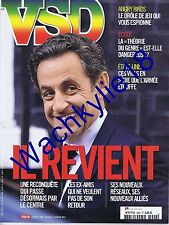VSD n°1902 du 06/02/2014 Sarkozy Pinks Panthers