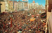 Vintage Postcard Mardi Gras Day in New Orleans LA City of Enchantment Louisiana