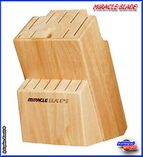 CEPPO in LEGNO per Coltelli MIRACLE BLADE dello Chef Tony - Visto in Tv