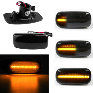 Dynamic LED Side Marker Light For Chrysler 200 Sebring Dodge Grand Caravan Nitro