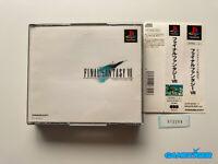 FINAL FANTASY VII 7 + Spine Card PS1 Sony Playstation JAPAN Ref:312296