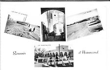 CP Tunisie - Souvenir d'Hammamet - Multivues n&b