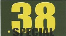 "Vinyl Ammo Can Magnet label "".38 Special"" Bold"