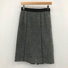 Taifun Pencil Skirt Taupe Grey Stretchy Stripe Sizes UK 8-20