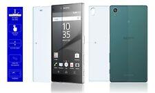 2x 9H Schutzfolie Echt Glas Handy Cover Für Original Sony Xperia Z5 Front & Back