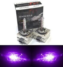 HID Xenon D1S Two Bulbs Head Light 12000K Purple Bi-Xenon Replace Low High Beam