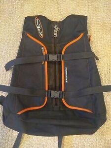 Salomon SnowBlade Ski Backpack Pack Black and Orange Winter Sports