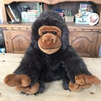 Mountain Gorilla Ape Plush Toy (Keel Toys) WWF Endangered Species (Simply Soft)