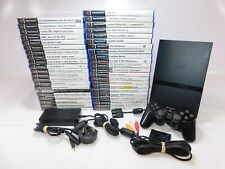 PLAYSTATION 2 SCPH-79003 Slim Console w/ 43 x Games + Official CONTROLLER
