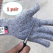 One Pair Cut Proof Resistant Level 5 Gloves Hand Protected CE&EN388 Certified US