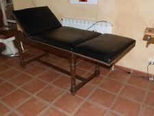 Lit d`auscultation année 30 meuble de mètier