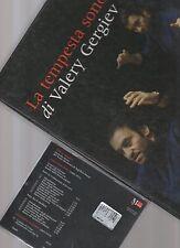 la tempesta classica di valery gergiev - lussuoso libri e Cd in bellissima custo