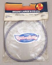 """**OLD SCHOOL BMX """"CLARK'S"""" POWERGLIDE FRONT CABLE (LILAC) NOS**"""