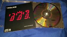 Police Ghost In The Machine Early Pre Bar Code Cd-3730 CRC Audio Master Plus