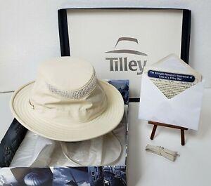 Tilley Endurables LTM5 Airflo Hat Khaki Olive Size 7 1/4 + Lifetime Warranty SSS