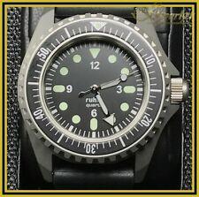 NVA Kampfschwimmer Uhr Ruhla Original Kal 13 limtd. Edition  NEU SONDERUHR 64-51