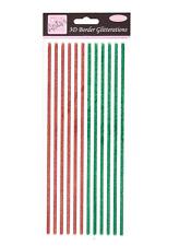 Glitterations 3D Border - Red & Green