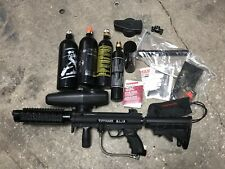 Tippmann A5 Semi Auto Paintball Gun Marker w/ Cyclone Feed Bundle - Black