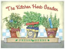 Kitchen Herb Garden, Food Home Cooking, Pub Cafe, bistro, Novelty Fridge Magnet