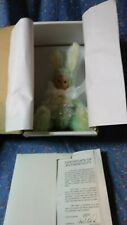 "NIB Marie Osmond Doll Bit O Bunny Mint Patty C97285 About 6 3/4"" High Sitting"